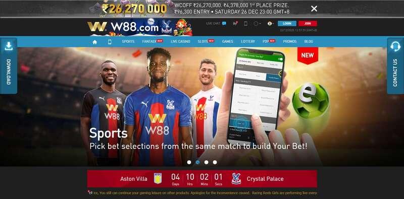 More Fantastic Games at W88.com Sports