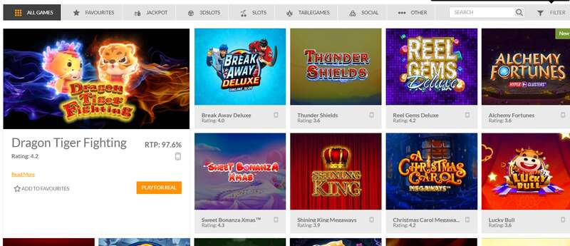More Games Available with 188Bet com More Games