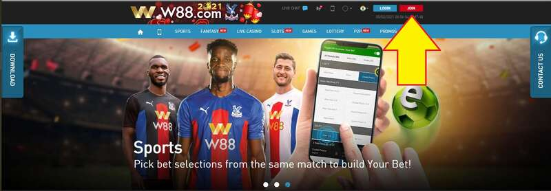 How to Register W88 The Best Casino and Sportsbook 2021 - Join Here