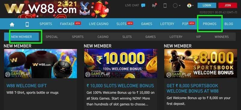 Promotions from Welcome Bonus to Rebates