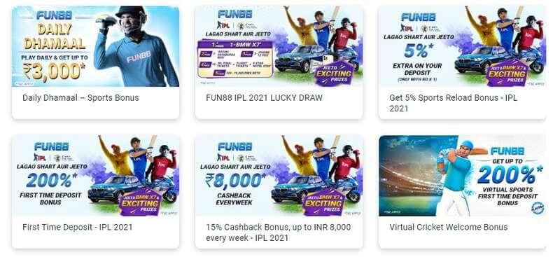 Sportsbook Fun88 Promotions