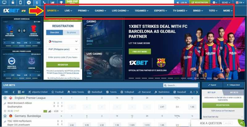 1xBet Online - Gigantic Collections of Games