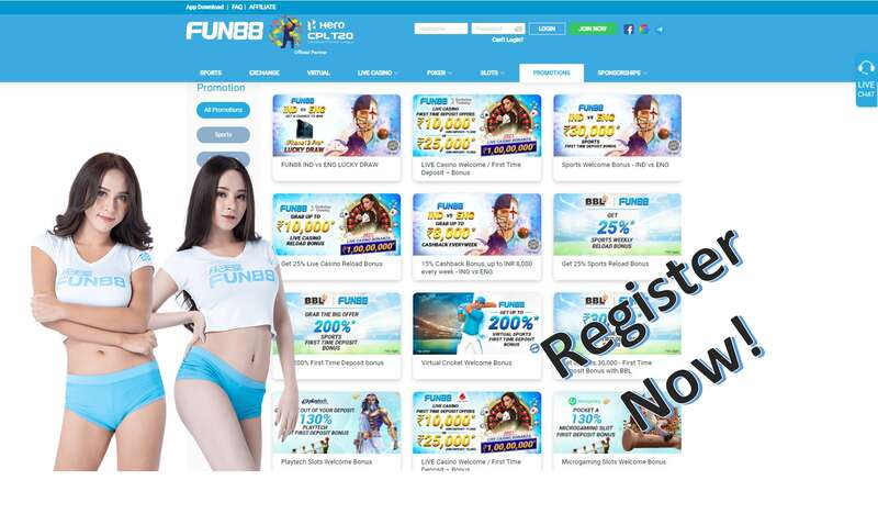 Register to Fun88 and Enjoy Great Gaming Experience Online