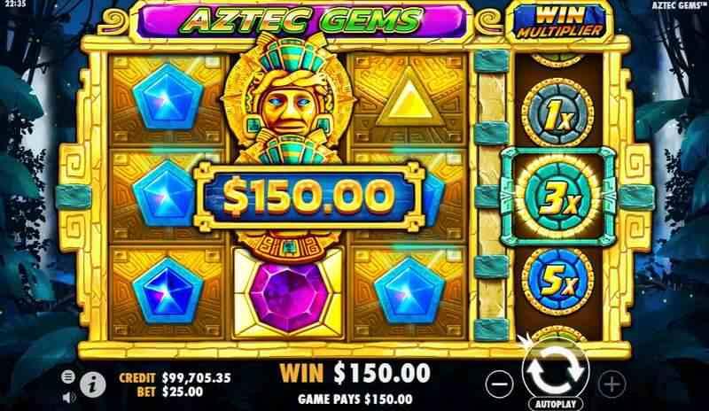 Happyluke Slots - Software Provider - Aztec Gems