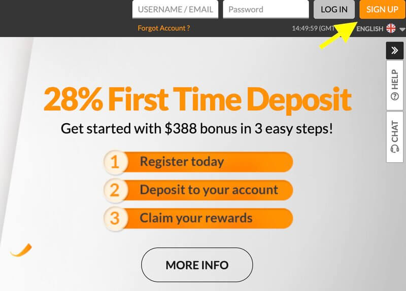 How to Register 188Bet in 3 Simple Steps - Step1