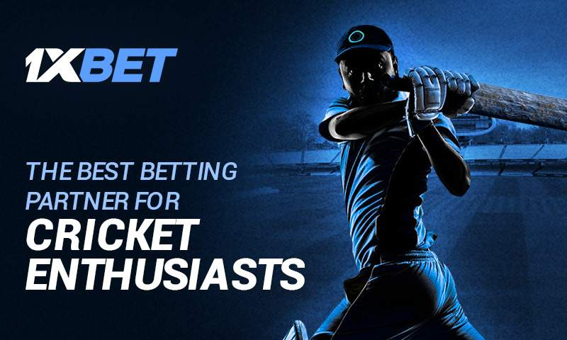 Play Today Cricket and Other Sports Games with 1xBet Bookies