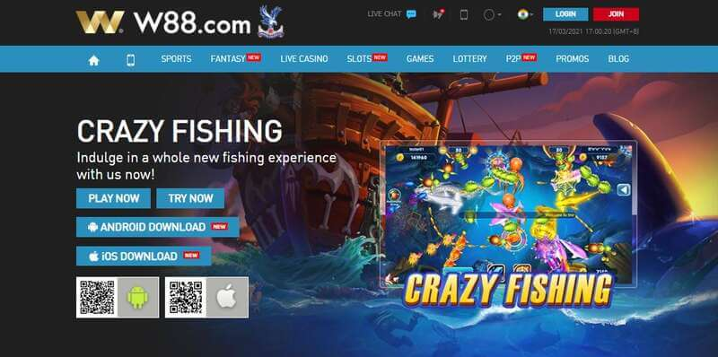 Play on Your Personal Computer with W88 Desktop Version - Crazy Fishing
