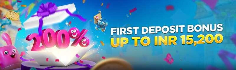 Welcome Bonus Promotion Happyluke India