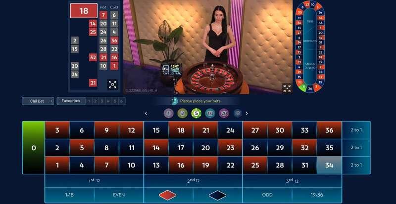 Luxurious Live Casino - W88 Club.com - Massimo