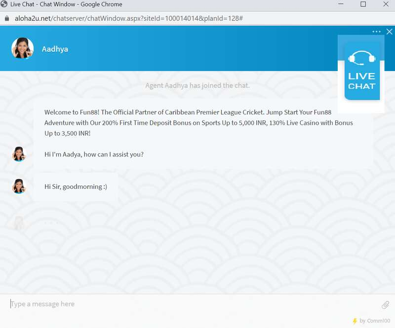 Superb Customer Assistance with Fun88 Live Chat