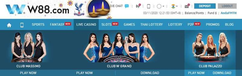 Enjoy Baccarat Online with Three Live Casino Clubs