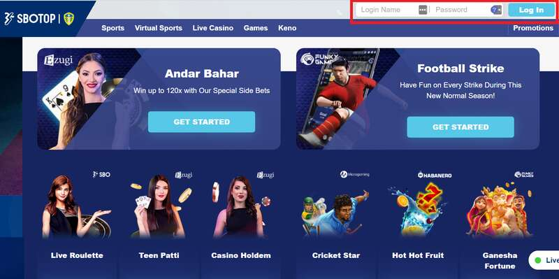 Comprehensive and All-Access Online Amusement with SBOTOP Login