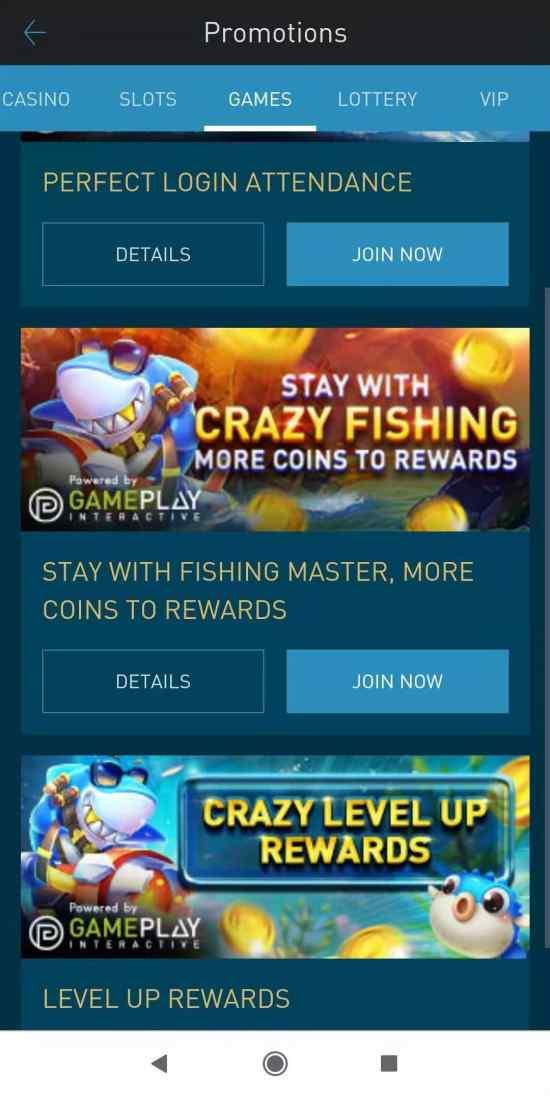 Crazy Fishing - Go Shoot for Reward Today - Promos