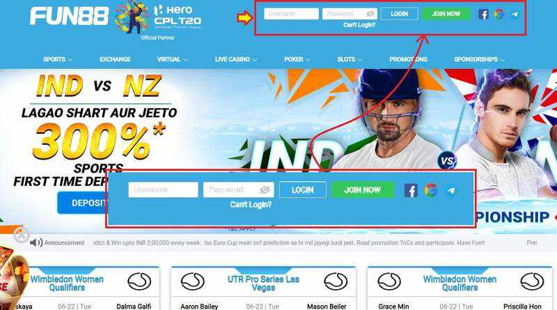 Find the Updated and Trusted Link Fun88 Login