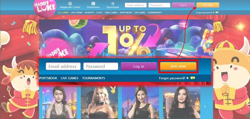Join and Login Happyluke India Using Secure Links