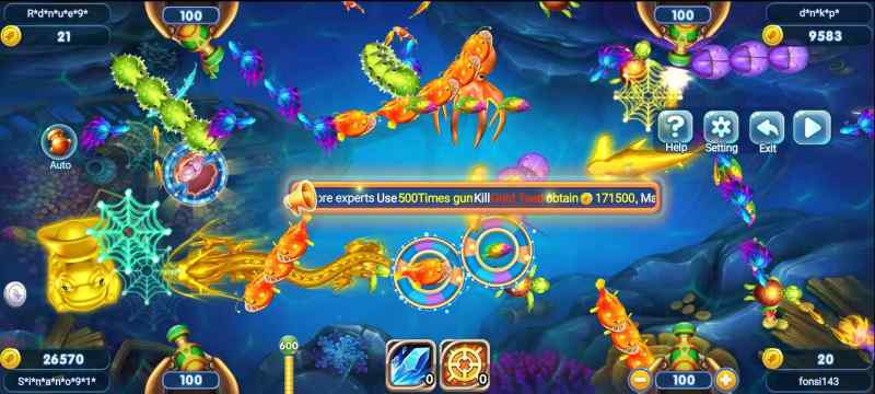 Shoot Fish for Reward - Easy Win with W88 Fishing Games