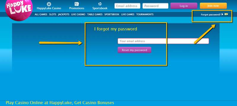 What to Do When You Forgot Password in Happyluke Login