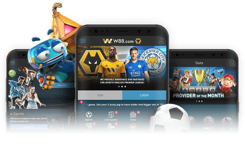 Mobile Gambling More Easier with W88 Download Version App
